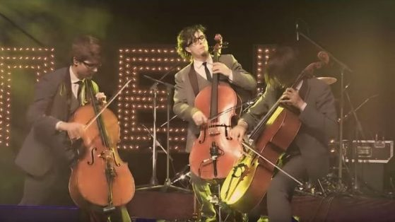 EUROPE – FINAL COUNTDOWN (CELLO/DRUMS COVER) – LIVE
